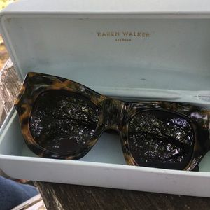 Karen Walker Sunglasses. In great condition